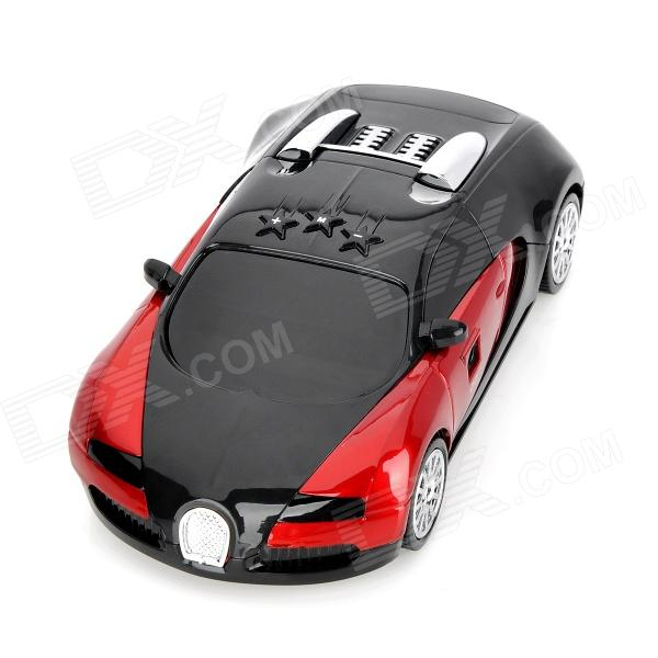 180 Degrees Radar Detector w/ Car Charger for Navigator - Red + Black
