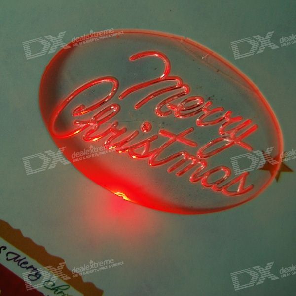 Music led christmas holiday cards with envelopes