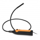AV-04E 10mm Hand-held Waterproof USB 4-LED Camera Endoscope - Black + Orange