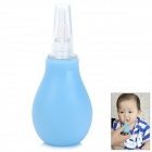 Cute Style Baby Silicone + PVC Nose Cleaner - Blue