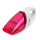 YF-001 Car Powered Vehicle Pesin Vacuum Cleaner Set - Valkoinen + Deep Pink
