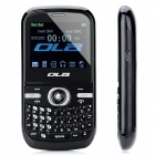 "OLA FLY GSM QWERTY Phone w/ 2.2"" LCD Screen, Quad-Band, TV, Dual-SIM and FM - Black"