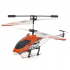 ZR-Z006 Rechargeable 3-CH IR Remote Control R/C Helicopter w/ Gyro - Orange + Black