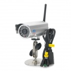 ES-IP615W 300KP Открытый водонепроницаемый Security Network камера W / 24-LED IR Night Vision - Silver