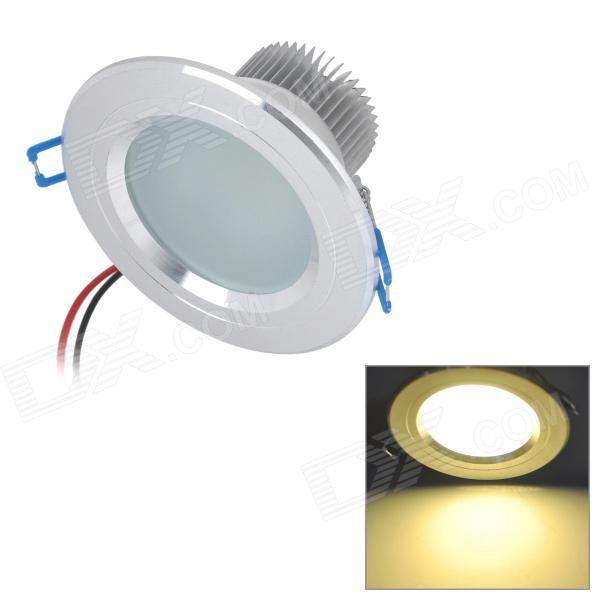 6W 500lm 3000K Warm White 15-SMD 5630 LED Ceiling Light Lamp - Silver (85~265V) kinfire m 18ww 18w 1610lm 3000k 90 smd 3528 led warm white ceiling lamp white ac 85 265v