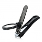 RiMei B690 Nail Clippers with 2X Magnifier - Black