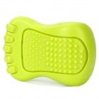 M-FOOT Portable Mini Vibrating Foot Relaxation Massager - Green (2 x AA)