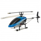 ZR-Z100 Rechargeable 3.5-CH Radio Control Single Blade R/C Helicopter w/ Gyro - Blue + Black