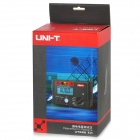 "UNI-T UT521 2.8"" LCD Digital Earth Ground Resistance Voltage Meter Tester - Deep Grey + Red (6 x AA)"