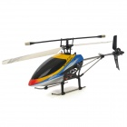ZR-Z101 Rechargeable 4-CH Radio Control Single Blade R/C Helicopter w/ Gyro - Yellow + Black