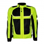 Outdoor Motorcycling Oxford Cloth Reflective Stripe Summer Long Sleeve Jacket (Size XXL)