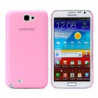 Newtons Matting Design Protective Plastic Back Cover Case for Samsung i7100 - Translucent Pink