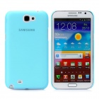 Newtons Matting Design Protective Plastic Back Cover Case for Samsung i7100 - Translucent Blue