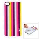 iEasypatch Soft Foam 3D Back Sticker for Iphone 4 / 4S - Multicolor