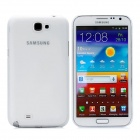 Newtons Protective Matte Plastic Back Case for Samsung Galaxy Note 2 / i7100 - White