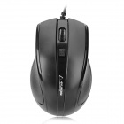 Hyundai HY-M150 USB Kabel 1000dpi Optical Mouse - Black