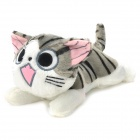 Cute Cartoon Chi&#039;s Sweet Cat Style Plush Doll Toy - White + Grey + Black + Pink