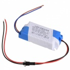 18W LED Constant Current Power Supply Driver - Blue + Beige (AC 85~277V)
