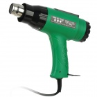 JieLaHua LL-150 1600W Electric Adjustable Hot Air Heat Gun - Black + Green (220~240V)