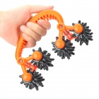 DAHOC HD-4258 Handheld Full Body Stress Reliever Massager - Orange + Black