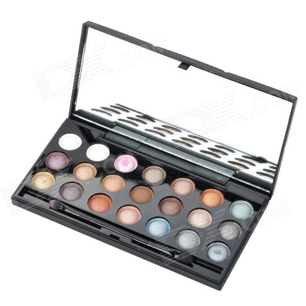 Professional Cosmetic Makeup 21-in-1 Eye Shadow Palette - Multicolored