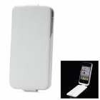 "iFans External ""1800mAh"" Battery PU + ABS Top Flip-Open Case for iPhone 4 / 4S - White"