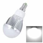 E14 6W 500LM Cool White Light 6*SMD 5630 LED Globular Bulb (220V)
