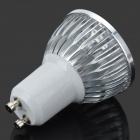 GU10 4W 400LM 6000K Cold White Light 4-LED Cup Bulb (85~265V)