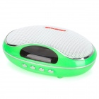 TAICHEN TC-FSP1003 Portable 2-Channel Media Player Speaker w/ TF / FM - Green + White