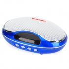 TAICHEN TC-FSP1003 Portable 2-Channel Media Player Speaker w/ TF / FM - Blue + White