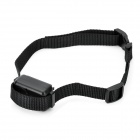 A109 Pet Dog Auto Bark Stop Training Collar - Black (2 x LIR2032)