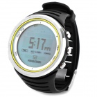 FOXGUIDER FX800 Sports Multi-Function Digital Wrist Watch w/ Compass / Altimeter - Black + Silver