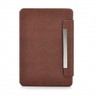 Lychee Pattern Protective 360 Degree Rotating Swivel PU Leather Case for Ipad MINI - Coffee