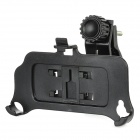 360-Degree Rotation Motorcycle Handlebar Mount Holder for iPhone 4 / 4S - Black
