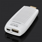 C100 Android 4.0 Mini PC Google TV HDMI Dongle w/ TF / Wi-Fi - White (1GB DDR3 / 4GB)