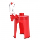 Creative ABS Drinking Soda Dispenser - Red