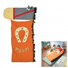 Cute Sea Horse Shaped Soft Cotton Warmer Sleeping Bag for Baby - Multicolored