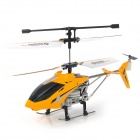 Udi U807 Rechargeable 3.5-CH Radio Controller R/C Helicopter w/ Gyro - Yellow + Black