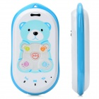 JIMI GK301 GPS / LBS Cellphone for Kids w/ Quad-Band / Single SIM / SOS - Blue + White