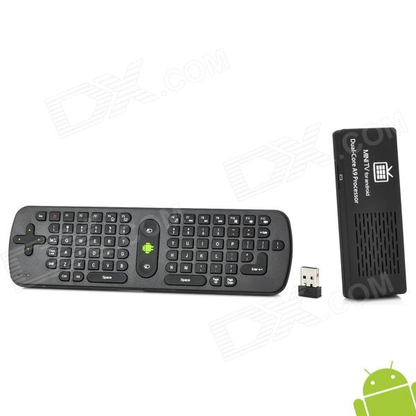 MK808 Cortex A9 1.6GHz Dual Core Android 4.1 Mini PC w/ 8GB Memory / Measy RC11 Air Fly Mouse