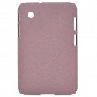 Protective Matte PC Hard Back Case Cover for Samsung Galaxy Tab2 P3100 / P3110 - Rose Brown