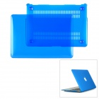 "Protective PC Upper + Back Cover Case for MacBook Air 13.3"" - Transparent Blue"