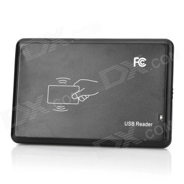 Intelligent ID Card USB Reader - Black