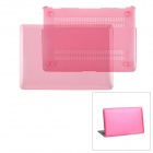 "Protective PC Upper + Back Cover Case for MacBook Air 13.3"" - Transparent Pink"