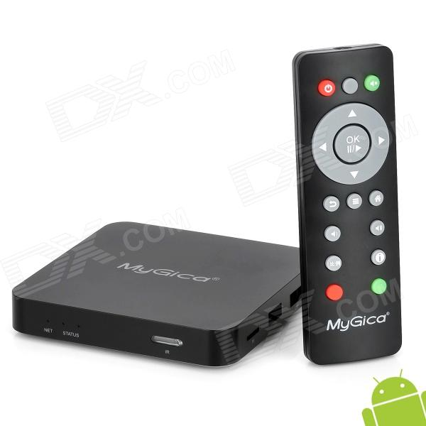 MyGica A11 Cortex A9 Android 4.0 Network Multimedia Player TV Box w/ TF - Black (1GB DDR3 / 4GB ROM)