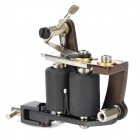 A004 Fashion Design Tattoo Machine Liner Shader Gun - Black