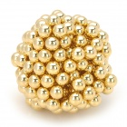 5mm Neodymium Magnet Bead DIY Puzzle Set - Golden (216 PCS)