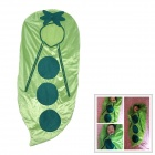 Doomagic Cute Pea Cocoon Shaped Soft Fleece Warmer Sleeping Bag for Baby - Green