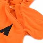 Doomagic Pumpkin Cocoon Shaped Soft Polar Fleece Warmer Sleeping Bag for Baby - Orange