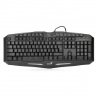 Genius K9 118-Key Wired Dual-Color Backlight Gaming Keyboard - Black